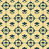 Vector clipart: Damask pattern