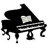Vector clipart: Grand piano