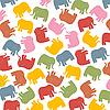 Пастельные слоны