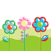 Vector clipart: Spring greeting card