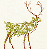 Photo 300 DPI: Stylized deer