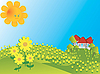 Spring card | Stock Illustration