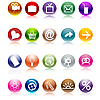 Vector clipart: Web buttons