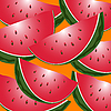 Vector clipart: watermelon
