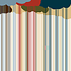 Vector clipart: Color rain