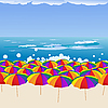 Summer beach | Stock Vector Graphics
