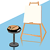 Vector clipart: Painting
