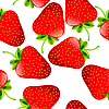 Vector clipart: strawberries