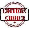 Vector clipart: Edotor`s choice stamp