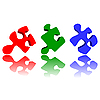 Vector clipart: Puzzle pieces