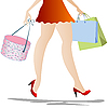 Vector clipart: Shopping