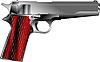 Vector clipart: Small pistol