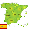 ID 3018528 | Spain map | High resolution stock illustration | CLIPARTO