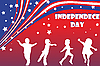 Vector clipart: Independence day