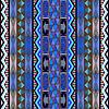 Vector clipart: Blue rug design