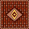 Vector clipart: African carpet