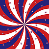 Vector clipart: Stars and stripes