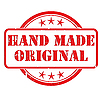 Vector clipart: Hand made stamp