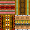 Vector clipart: Decorative African patterns