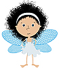 Little angel | Stock Vector Graphics