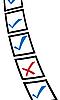 Векторный клипарт: опросник