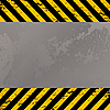 Vector clipart: construction warning stripes