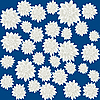 Vector clipart: white roses