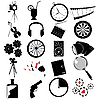 Vector clipart: Various web icons
