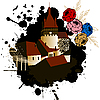 Vector clipart: Medieval castle