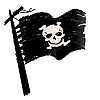 Vektor Cliparts: Piratenflagge