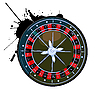 Vector clipart: Old roulette wheel