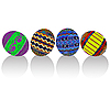 Vector clipart: Painted easter eggs