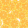 Seamless oranges | Stock Vector Graphics