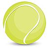 Tennis ball | Stock Vector Graphics