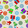 Vector clipart: Christmas pattern