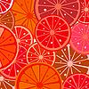 Векторный клипарт: грейпфрутовый фон