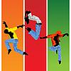 Векторный клипарт: Прыжки