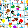 Vector clipart: children