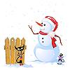 ID 3039055 | Winter-Karte | Stock Vektorgrafik | CLIPARTO