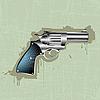 Vector clipart: grunge revolver