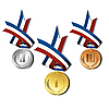Medals | Stock Vector Graphics
