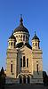 클루지나 포카에있는 정교회 대성당 | Stock Foto