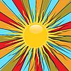 Sol | Ilustración vectorial