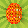 Vector clipart: Colored egg
