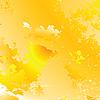 яркие солнечные лучи