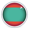 Vector clipart: Transnistrian flag button