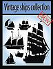 Векторный клипарт: набор старинных кораблей