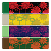 웹 꽃 배너 | Stock Vector Graphics