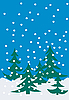 Winter-Komposition