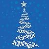 Векторный клипарт: Рождественская елка
